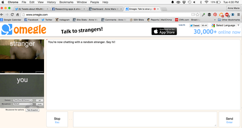 how to get banned on omegle